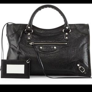 Balenciaga Classic Leather City Bag